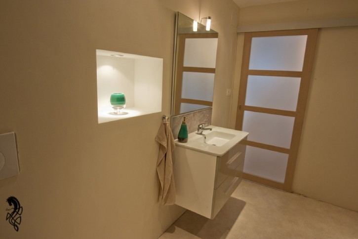 Bathroom Alcove & Sink